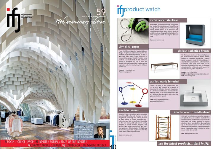 INSIDHERLAND | Into the Woods bookcase by Joana Santos Barbosa featured in Index Furniture Journal from India, December 2014 #INSIDHERLAND #intothewoods #bookcase