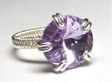 Best Wire Wrapped Rings Images On Pinterest Jewelry Ideas - Cute diy wire rings for middle phalanges