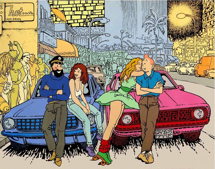 Hommage de Benoit Pare #Tintin