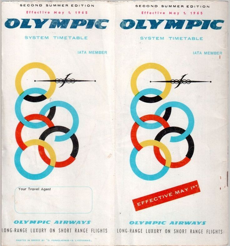 Olympic Airways Timetable