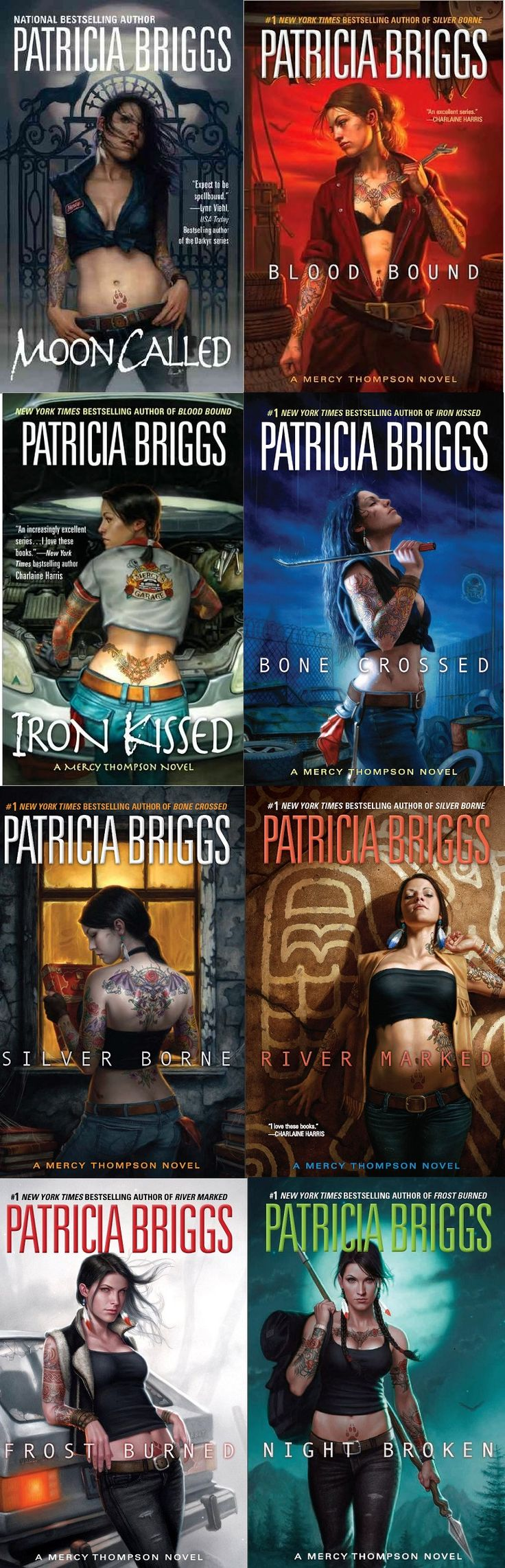 Mercy Thompson Series By Patricia Briggs This Is An Excellent Urban  Fantasy Series About A