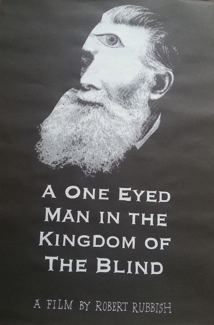 A One Eyed Man In The Kingdom Of The Blind (film poster)