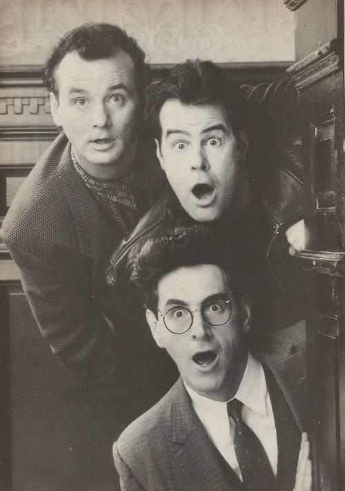 Ghostbusters Ray, Peter, and Egon