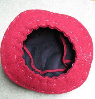 siebensachen zum selbermachen rot und schwarz h te n hen pinterest. Black Bedroom Furniture Sets. Home Design Ideas