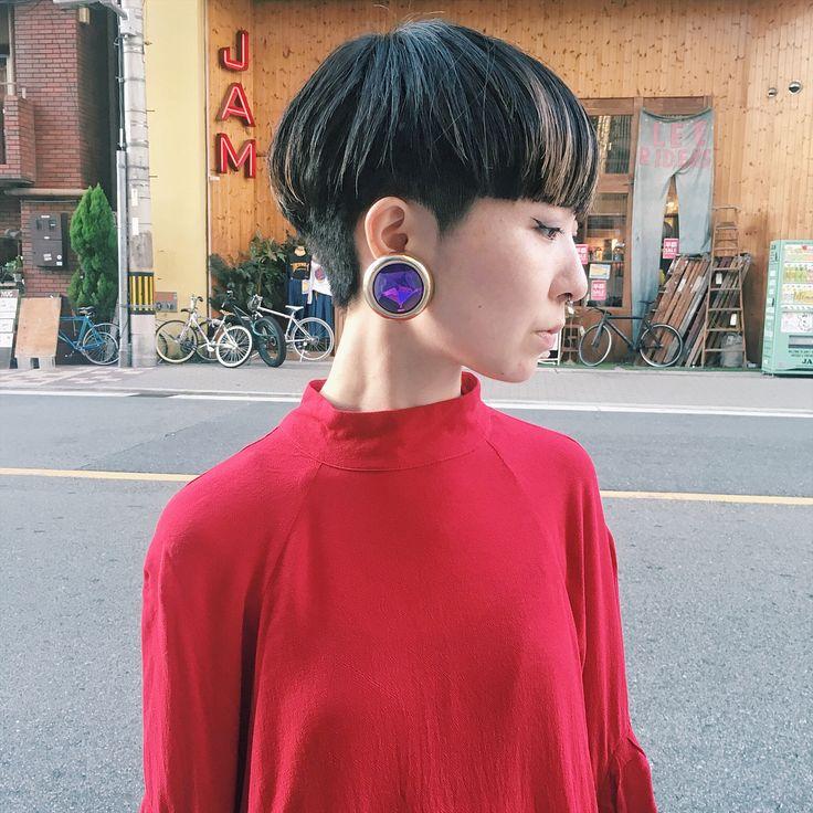 . guest snap.. . #ショート#ショートヘア #ベリーショート #堀江#chikashitsu#チカシツ