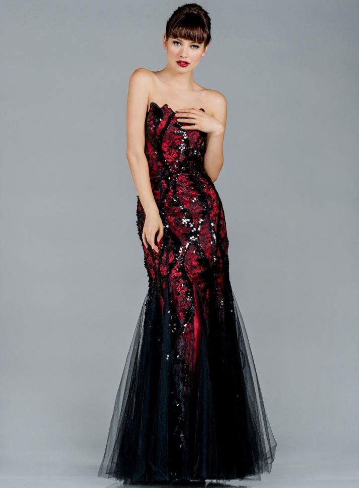 Red And Black Wedding Dresses Unique Prom Dresses Red