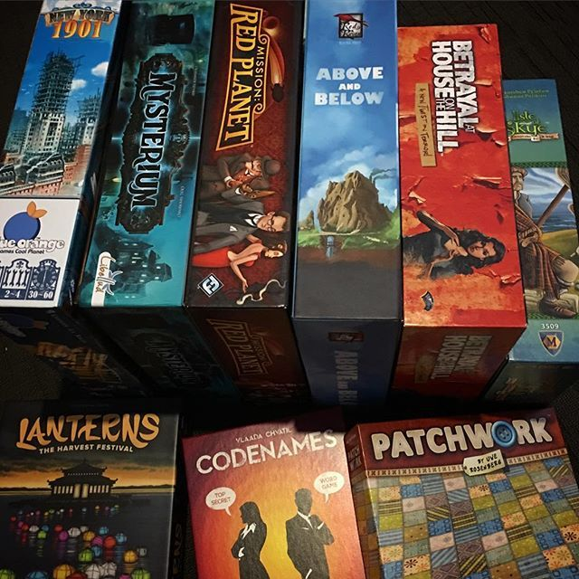 Getting some games ready to take to games night with one of the Gameapalooza team members family. We like this one as there's always home baked goods  hope everyone is having a good weekend. #tabletop #tabletopgame #boardgame #boardgamegeek #bgg #boardgames #boardgamer #tabletopgamer #brettspiel #juegodemesa #gamenight