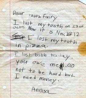 Best Tooth Fairy Letter Ever Makes Me Re-Think the Lies | The Stir