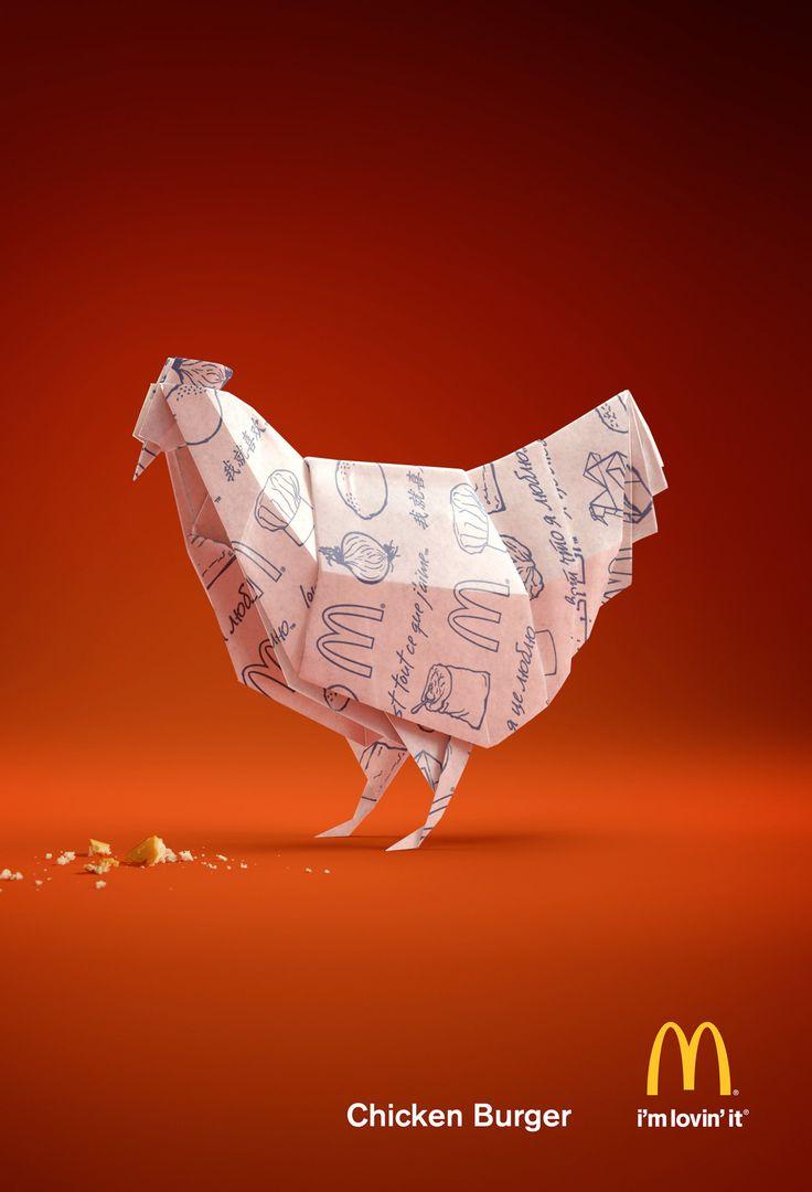 McDonald's- Paper Chicken