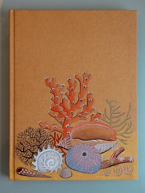 Sketchbook cover.