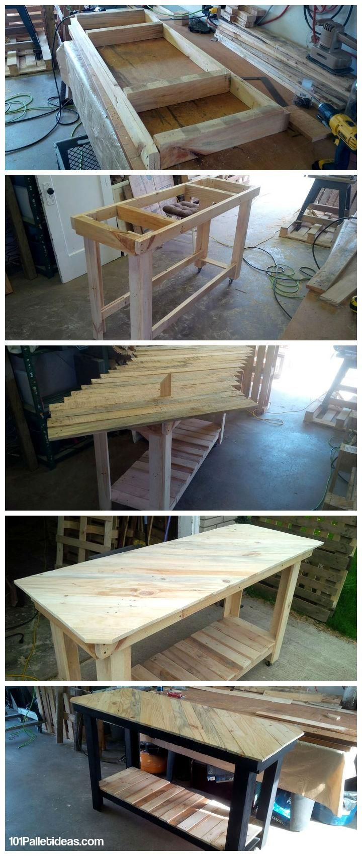 Pallet kitchen island diy - How To Build Your Own Pallet Kitchen Island So Here Pallet Is Unique Solution