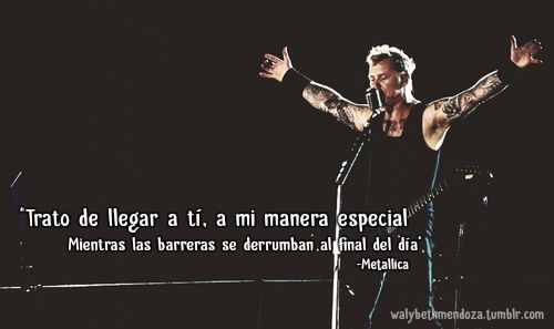 metallica, frases de metallica, The Small Hours, Garage Inc. frases de amor, metal, rock, frases de metal