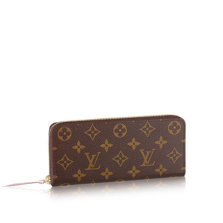 Portefeuille Clémence via Louis Vuitton