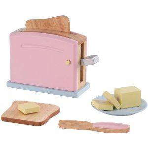 KidKraft 63304 Pastel Toaster Set: Amazon.ca: Toys & Games
