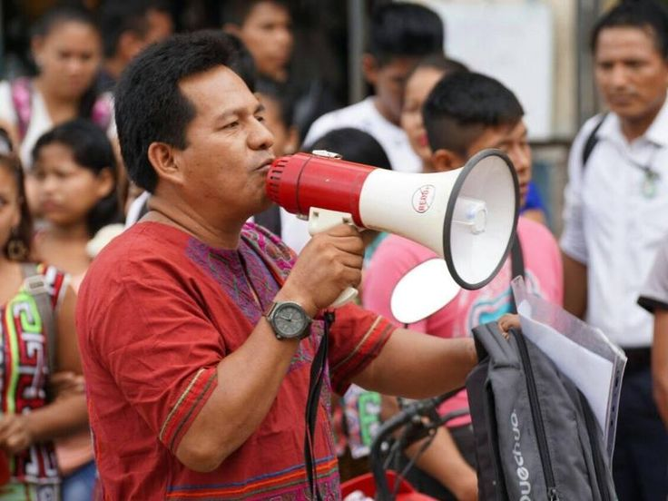 Call on Peru's government to protect indigenous Earth Defenders.