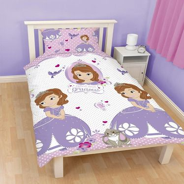 Sofia The First Amulet Single Bedding Rotary Print From