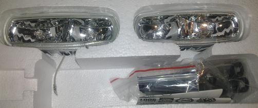 Противотуманки DLAA 600 белые (на две лампы)