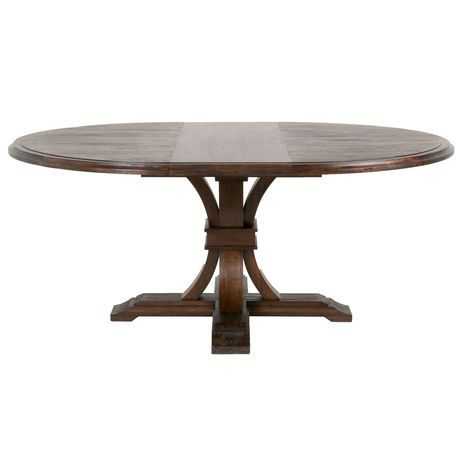 """Devon 54"""" Round Extension Dining Table   Scout & Nimble"""
