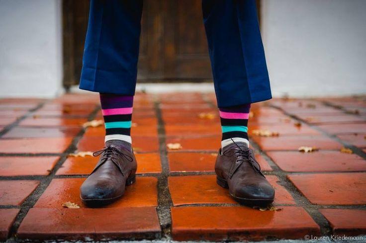 Grooms happy socks:)