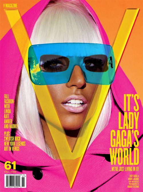 Lady Gaga On The Cover Of V Magazine September 2009