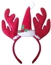 Dekorlu Noel Baba Şapkası, Pullu Taç