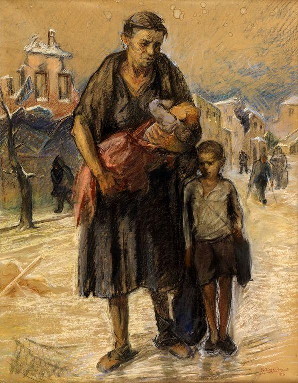 Μαλάμος Κώστας-Ξεκλήρισμα, 1946