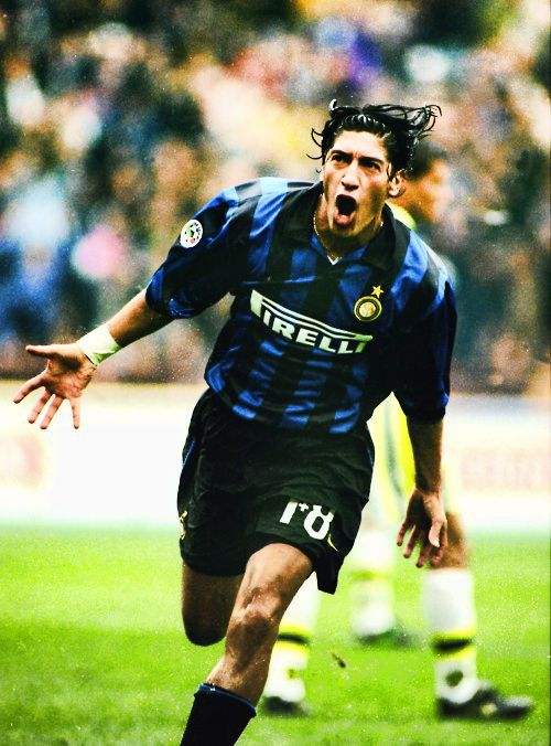 Iván Luis Zamorano Zamora. Former Striker for Real Madrid and Inter Milan and the Chilean national football team.