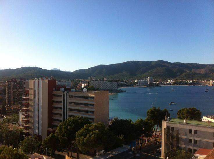 Magaluf beach - July 2014
