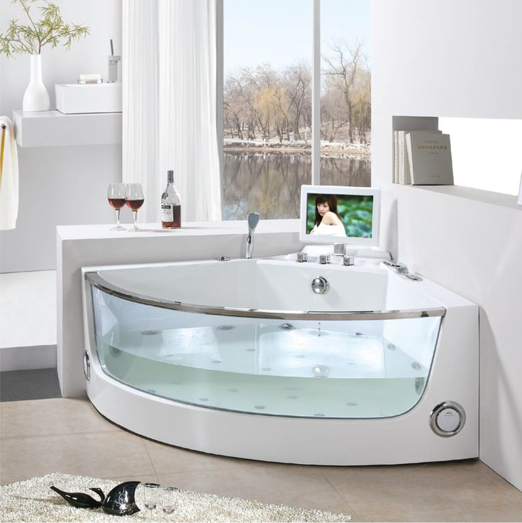 17 ideas about stand alone bathtubs on pinterest for Bathtub styles types of bathtubs
