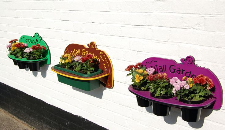 Perfect planters to brighten up any dull area