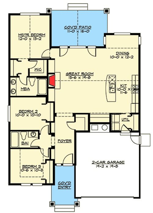 2184 best floor plans images on pinterest house template Simple cottage floor plans
