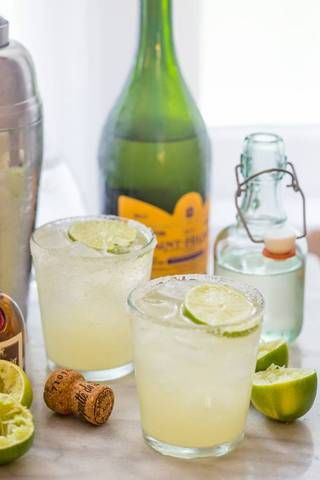 easy summer cocktail recipes champagne margarita