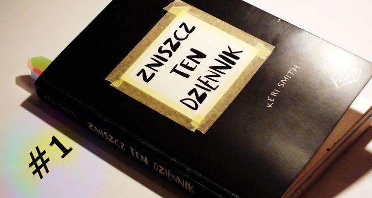 Zniszcz Ten Dziennik #1 - taśma, farby, porwane kartki #zniszcztendziennikwszedzie #zniszcztendziennik #kerismith #wreckthisjournal #book #ksiazka #KreatywnaDestrukcja #DIY