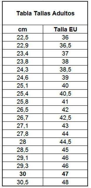EL ATELIER DEL TEJIDO: Tabla de medidas y muestra