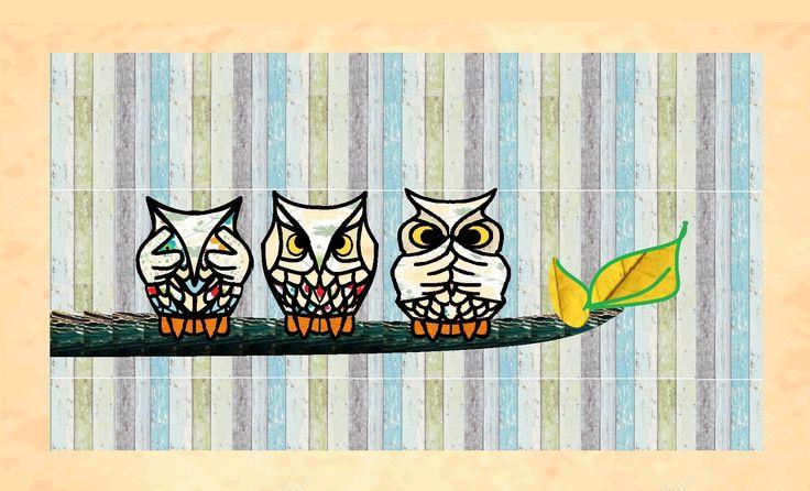 See No Evil Hear No Evil Speak No Evil Owls Owl