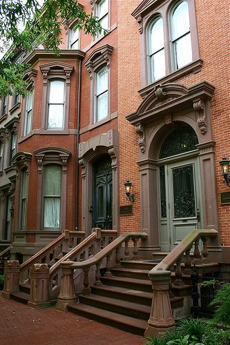397 best images about brownstone curb appeal on pinterest for New york city brownstone for sale