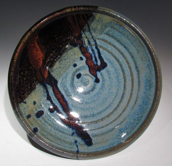 Handmade Pottery Asian Style Dinner Plate for your by claycoyote, $32.00 Gorgeous choice of glazes