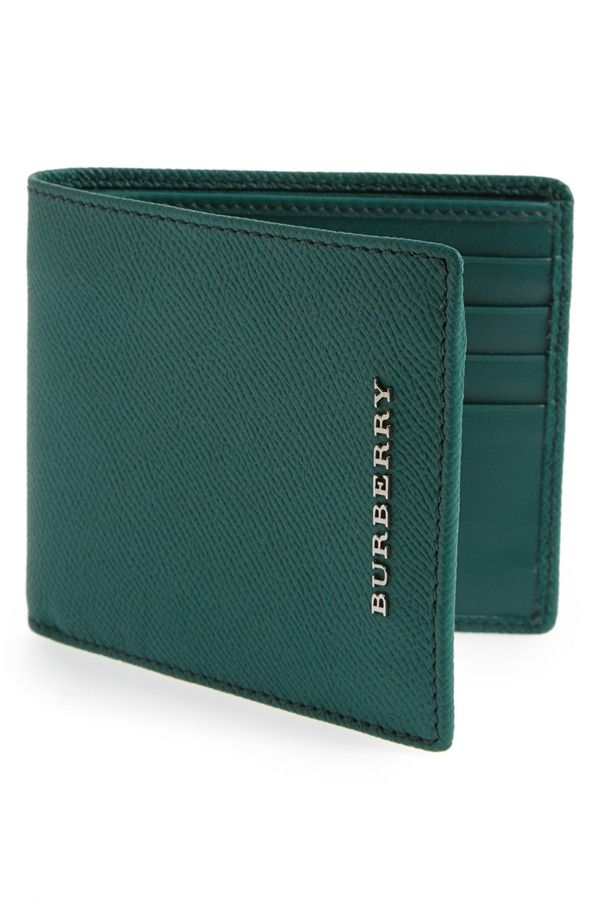On the list for Father's Day | Burberry bifold leather wallet
