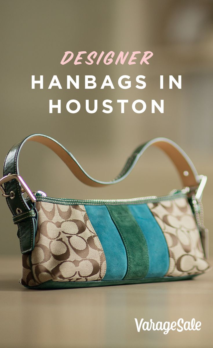 Download the VarageSale app to explore great deals on purses and handbags that are in excellent condition. Find the latest fashion accessories located right in the Houston area. Available on iOS and Android.