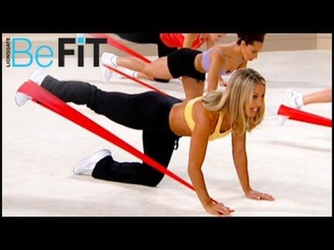 Lower Body Resistance Workout: Hips Thighs & Butt- Denise Austin - YouTube