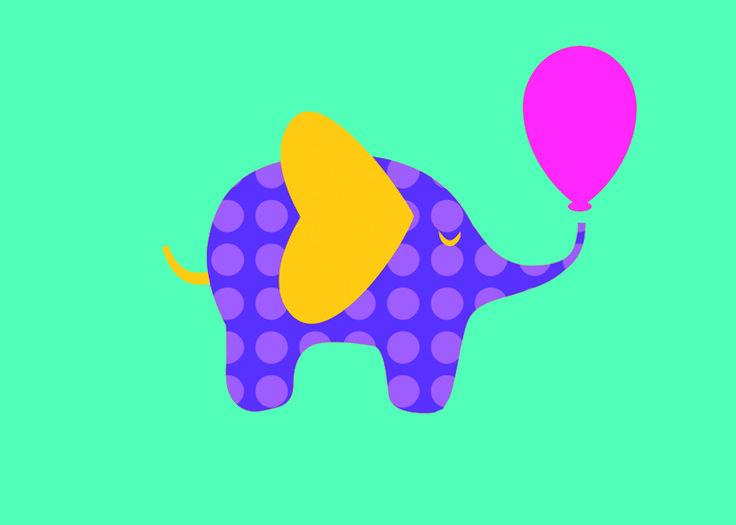 Elefante Colorido Festas Personalizadas