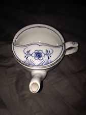 Antique WT&C Made in Germany Pap Boat, Invalid Feeder, Nursing Cup