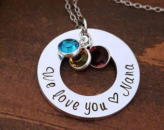 NaNa Necklace Nana Gift For Grandmother by SpotLightJewelry