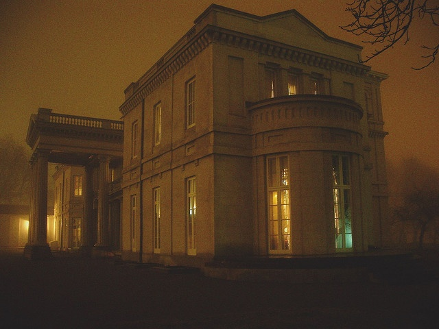 Dundurn Castle II - Night by World Biosphere, via Flickr