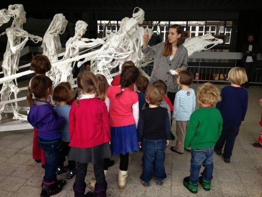New game! Stworki i potworki z Nowosztukonii, Gra muzealna dla dzieci w wieku 3-6 lat