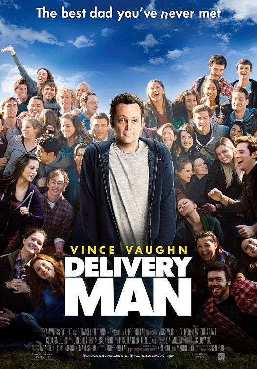 Delivery Man. This was way better than I anticipated. Very interesting concept for a film, worth seeing.