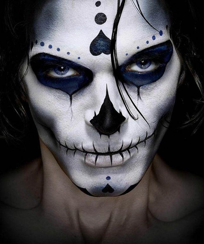 Quatang Gallery- 1001 Idees De Maquillage Halloween Homme Impressionnant Maquillage Halloween Homme Maquillage Halloween Homme Facile Maquillage Halloween
