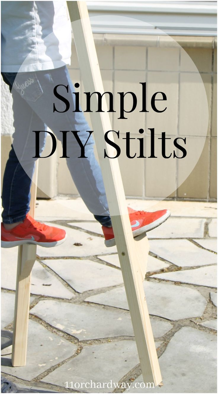Simple DIY Stilts