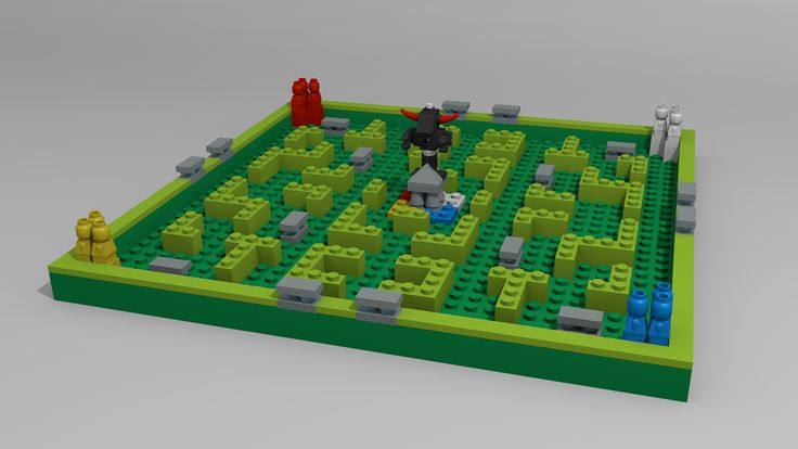 Lego Minotaurus by Marsovski.deviantart.com on @deviantART