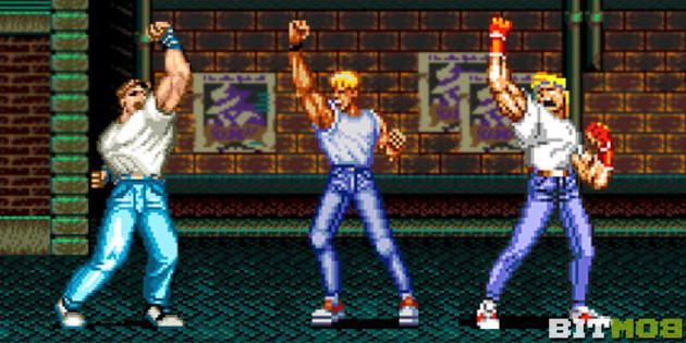 Pin On Streets Of Rage Bare Knukle